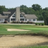 A view of the clubhouse at Lindale Golf Club