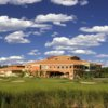 A view of the clubhouse at Coco Beach Golf Club