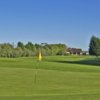 A view of the 1st hole at St Kew Golf Club