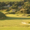 A view from the 18th tee at West Course from Saunton Golf Club