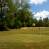 A view of green at Bullpits Golf Club