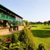 A view of the clubhouse at Three Rivers Golf & Country Club