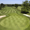 A view of green #17 at Dulwich & Sydenham Hill Golf Club