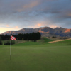 A view of the 1st hole at The Hills Golf Club