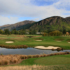 A view of the 4th hole at The Hills Golf Club