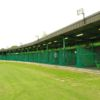 A view of the driving range at Dibden Golf Centre