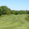 A view of the fairway at Katke Golf Course
