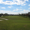 A view of the 1st fairway and green at Millstone Golf Club