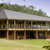 A view of the clubhouse at Ashridge Golf Club