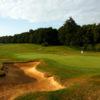 A view of the 18th green at Ashridge Golf Club