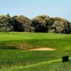 A view of the 6th green at Walmer & Kingsdown Golf Club