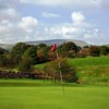 A view of the 7th hole at Colne Golf Club