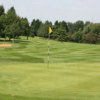 A view of green #16 at Lutterworth Golf Club