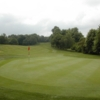 A view of green #15 at Willesley Park Golf Club