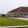 A view of the clubhouse at Skegness Golf Centre