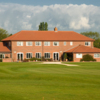 A view of the clubhouse at Waltham Windmill Golf Club