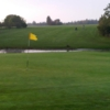 A view of a hole with water coming into play at Welton Manor Golf Centre