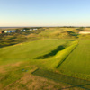 A sunny view of a green at Hunstanton Golf Club