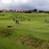 A view of the 18th green at Magdalene Fields Golf Club