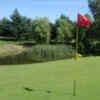 A view of hole #17 at Mile End Golf Club