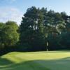 A view of green #11 at Bristol & Clifton Golf Club