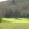 A view of the 14th fairway at Clevedon Golf Club