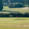 A view of a green at Academy Course from Mendip Golf Club