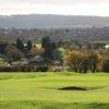 A view of the 7th hole at Tickenham Golf Club