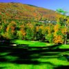 View of the 8th hole at Okemo Valley Golf Club