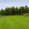 A view of green #18 at Thorne Golf Club