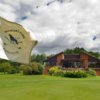 A view of the clubhouse at Rookery Park Golf Club