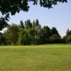 A view of green #5 at Pachesham Golf Centre