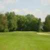 View of a green at Pine Hills Golf Course