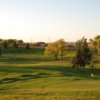 View of a green at Raymond Golf Course