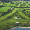 Aerial view from Whitefields Golf Club