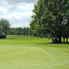 A view from behind green #15 at Copt Heath Golf Club