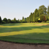 A view of green #12 at Coventry Hearsall Golf Club