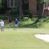 Golfers at Mayfield-Graves Country Club