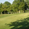 A view of the 7th green at Ifield Golf Club