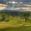 View of the 18th hole at Poplar Grove Golf Club