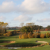 A view of the 3rd green at Red Course from Cumberwell Park Golf Club