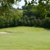 A view from the 1st fairway at Bewdley Pines Golf Club