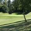 A view of green #3 at Churchill & Blakedown Golf Club