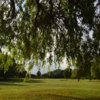 A view of the 2nd fairway at Evesham Golf Club