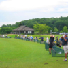 A view of the driving range at Braemar Golf Course