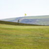 A view of green #8 at Tredegar and Rhymney Golf Club