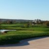 A view from Academy Course at Neshanic Valley Golf Course with the clubhouse in background