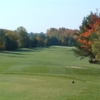 A fall view from a tee at Timber Wolf Golf Club