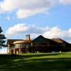 A view of the clubhouse at Eau Claire Golf & Country Club