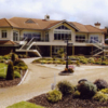 A view of the clubhouse at Royal Tara Golf Club
